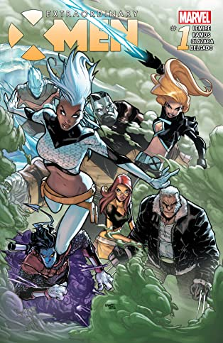 Extraordinary X-Men (2015-2017) #1