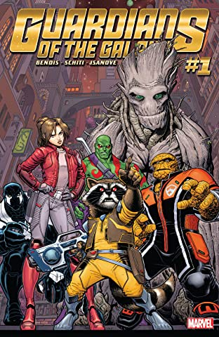 Guardians of the Galaxy (2015-2017) No.1