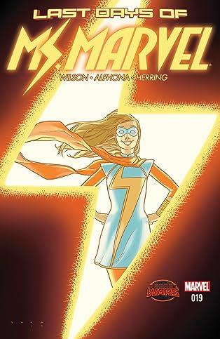 Ms. Marvel (2014-) #19