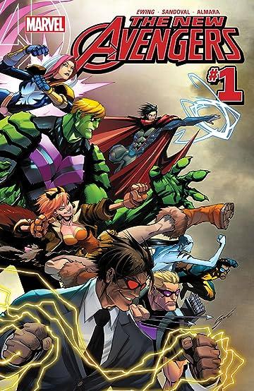 New Avengers (2015-2016) #1