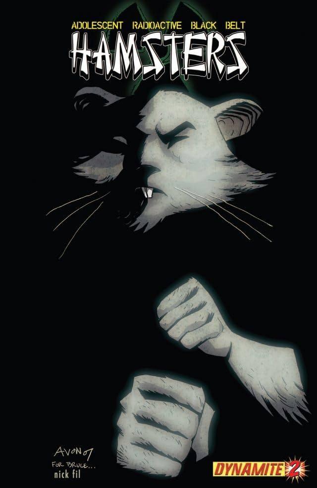 Adolescent Radioactive Black Belt Hamsters #2
