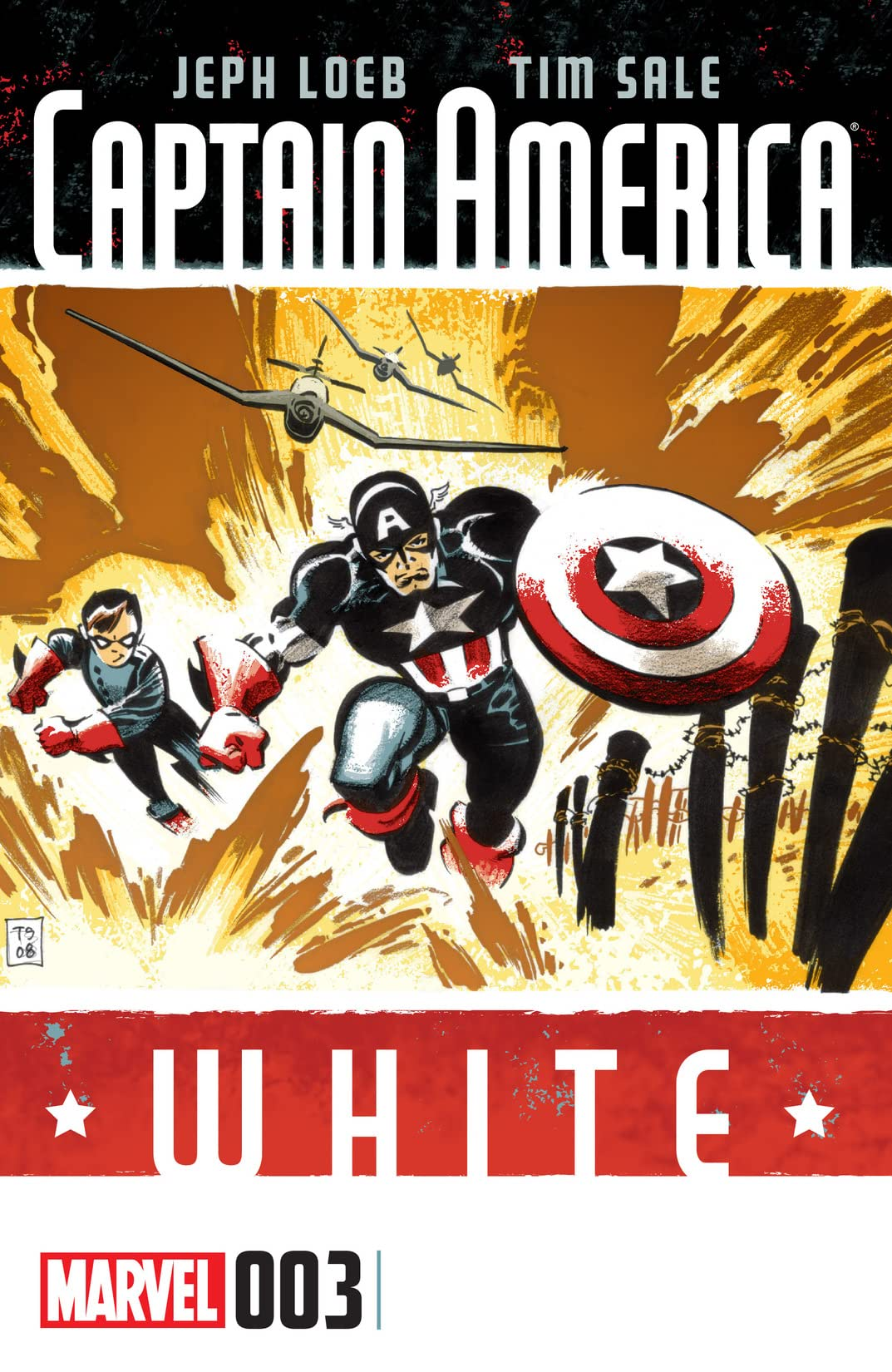 Captain America: White #3 (of 5)