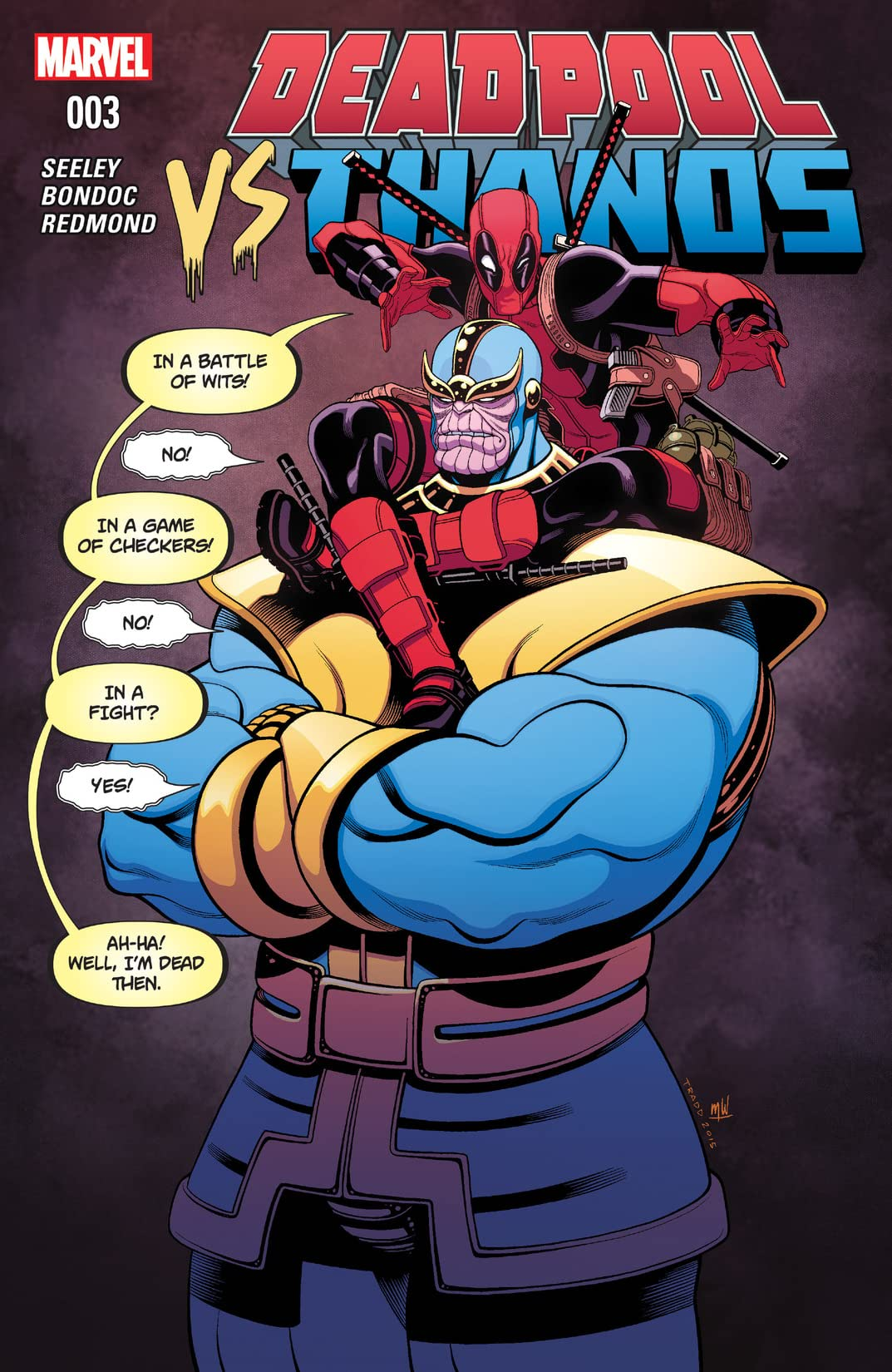 Deadpool vs  Thanos (2015) #3 (of 4) - Comics by comiXology: Web UK