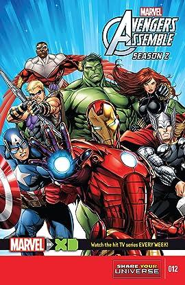 Marvel Universe Avengers Assemble Season Two (2014-2016) #12