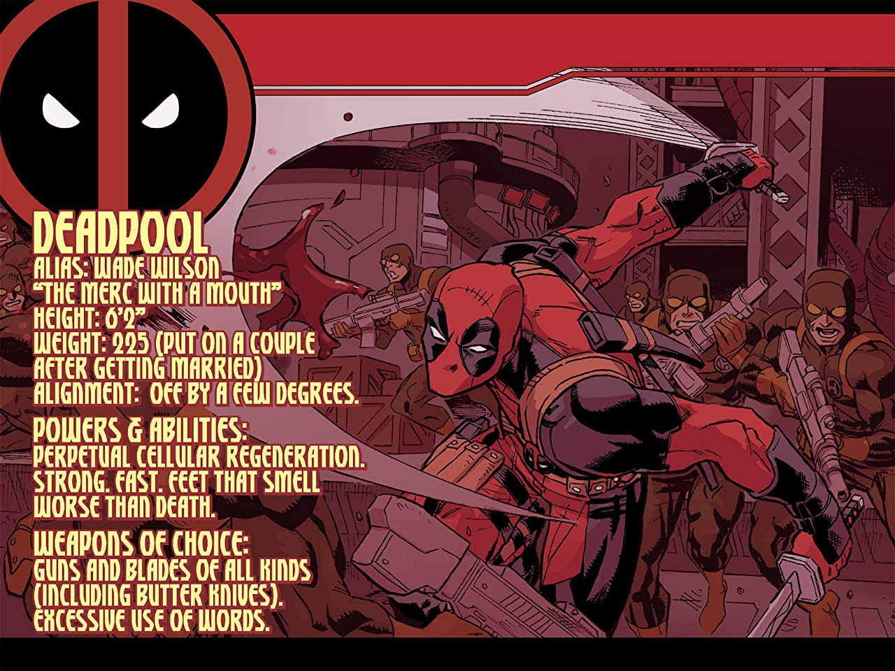 Deadpool & Cable: Split Second Infinite Comic #1