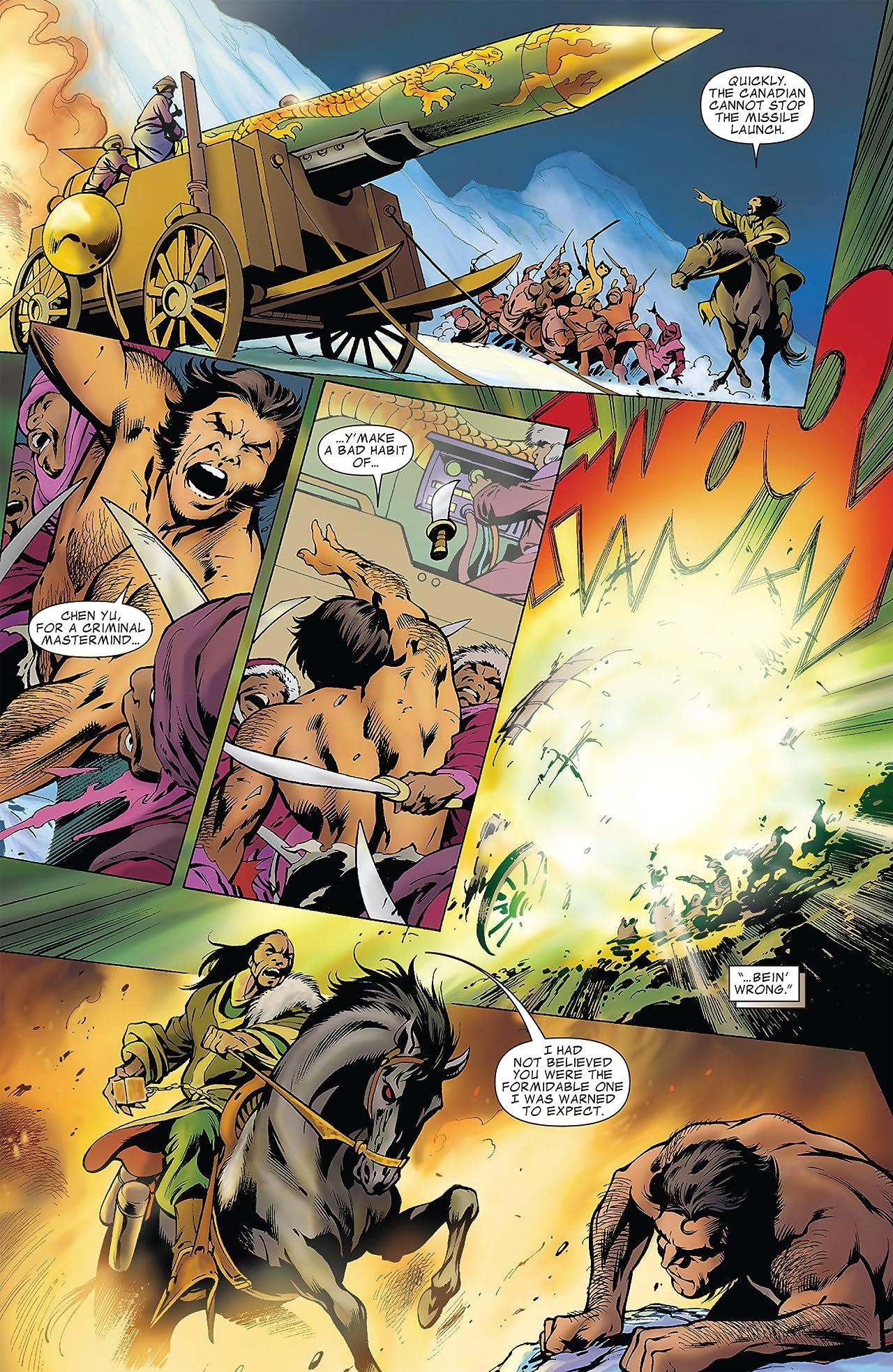 Wolverine (2010-2012) Annual #1