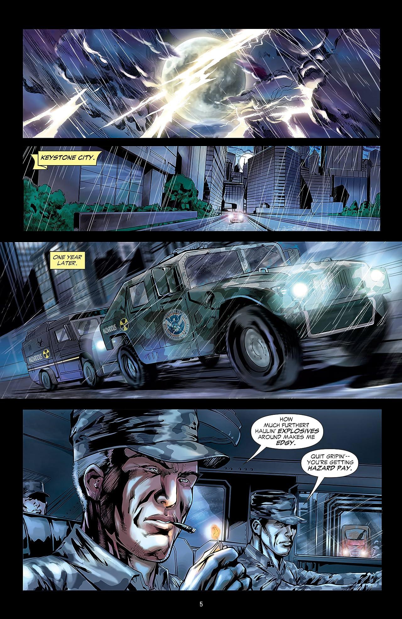 Flash: The Fastest Man Alive (2006-2007): Lightning In A Bottle