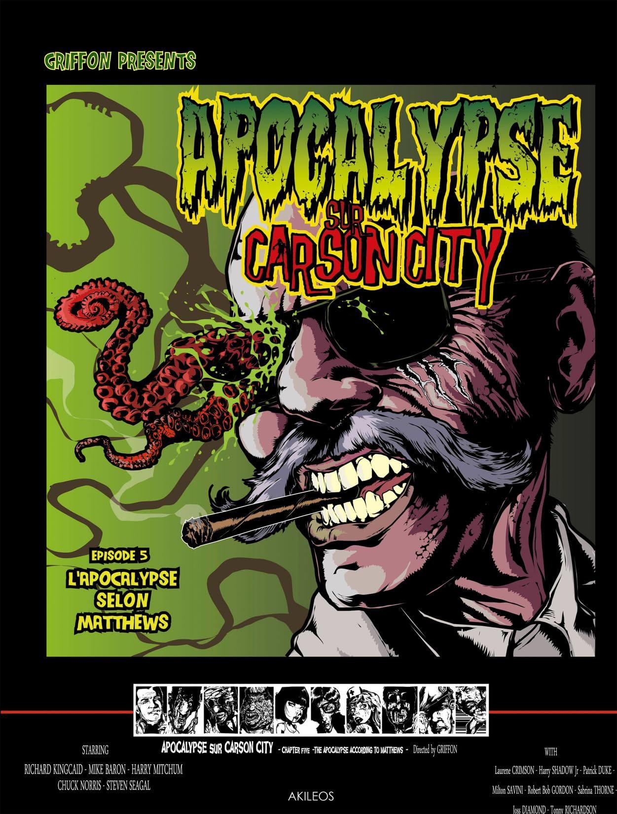 Apocalypse sur Carson City Tome 5: L'Apocalypse selon Matthews