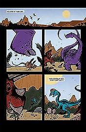 Space Parasaurolophus