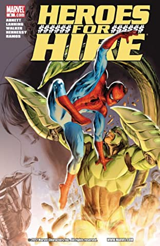 Heroes For Hire (2010-2011) No.8