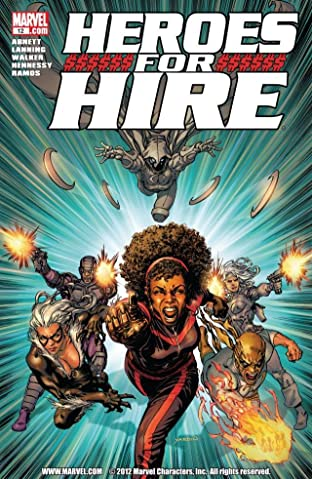 Heroes For Hire (2010-2011) No.12