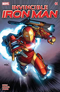 Invincible Iron Man (2015-2016) #2