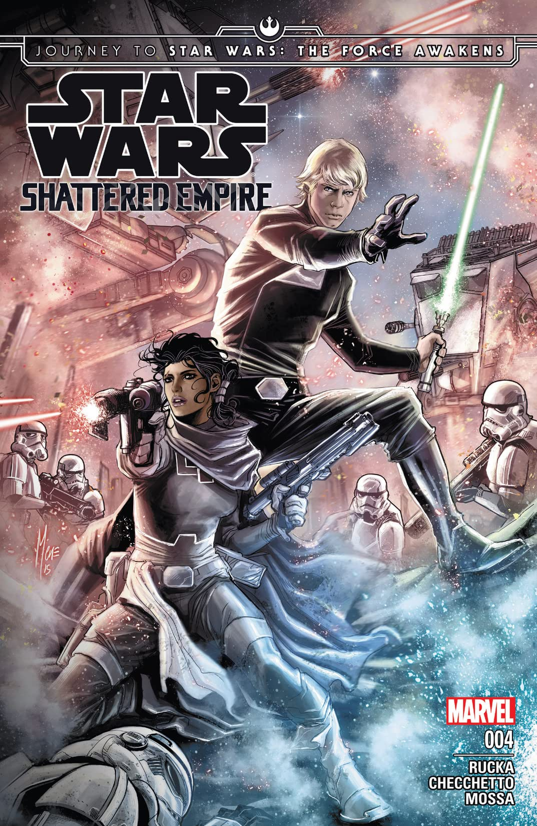 Journey to Star Wars: The Force Awakens - Shattered Empire #4 (of 4)