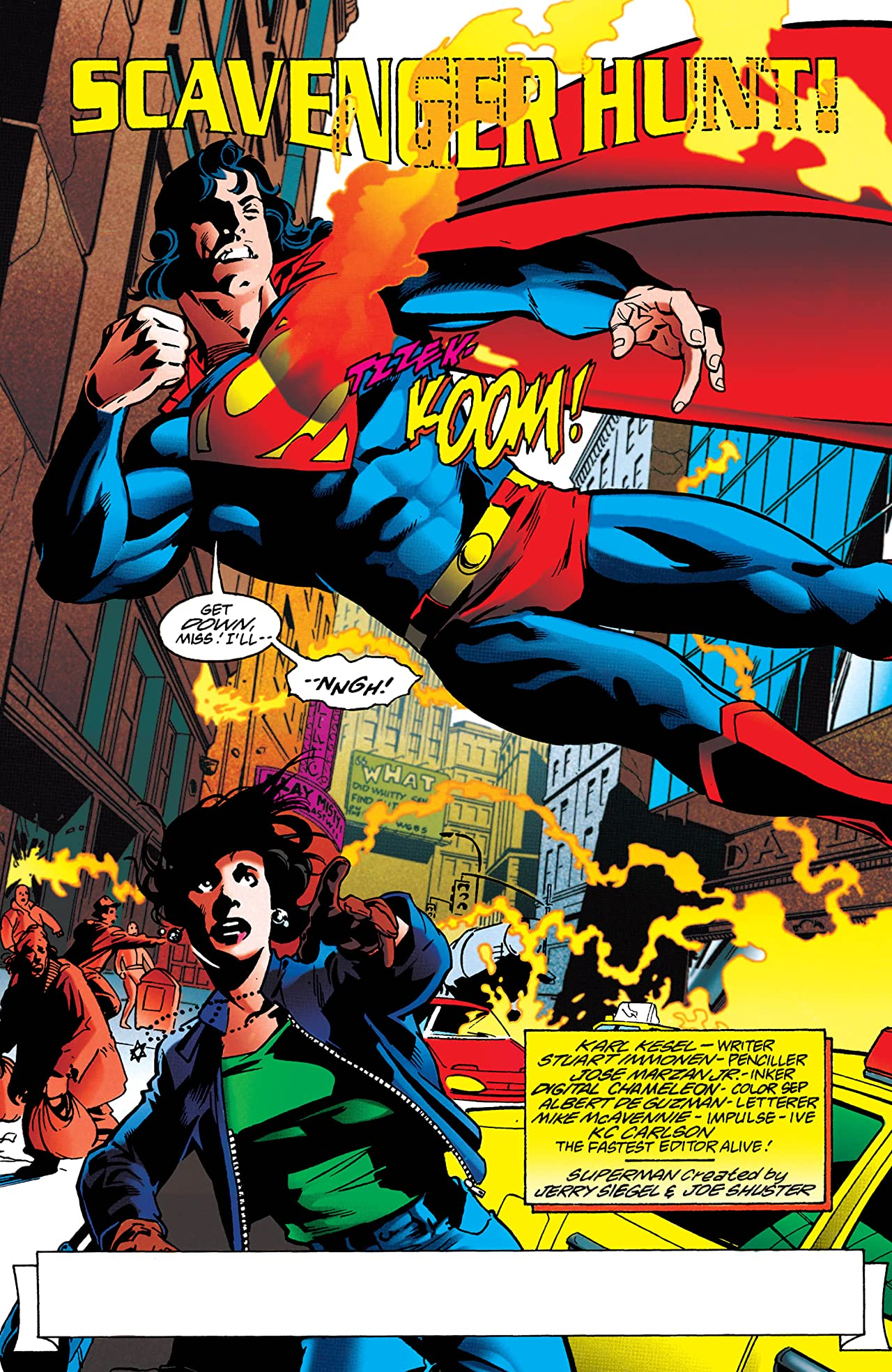 Adventures of Superman (1986-2006) #533