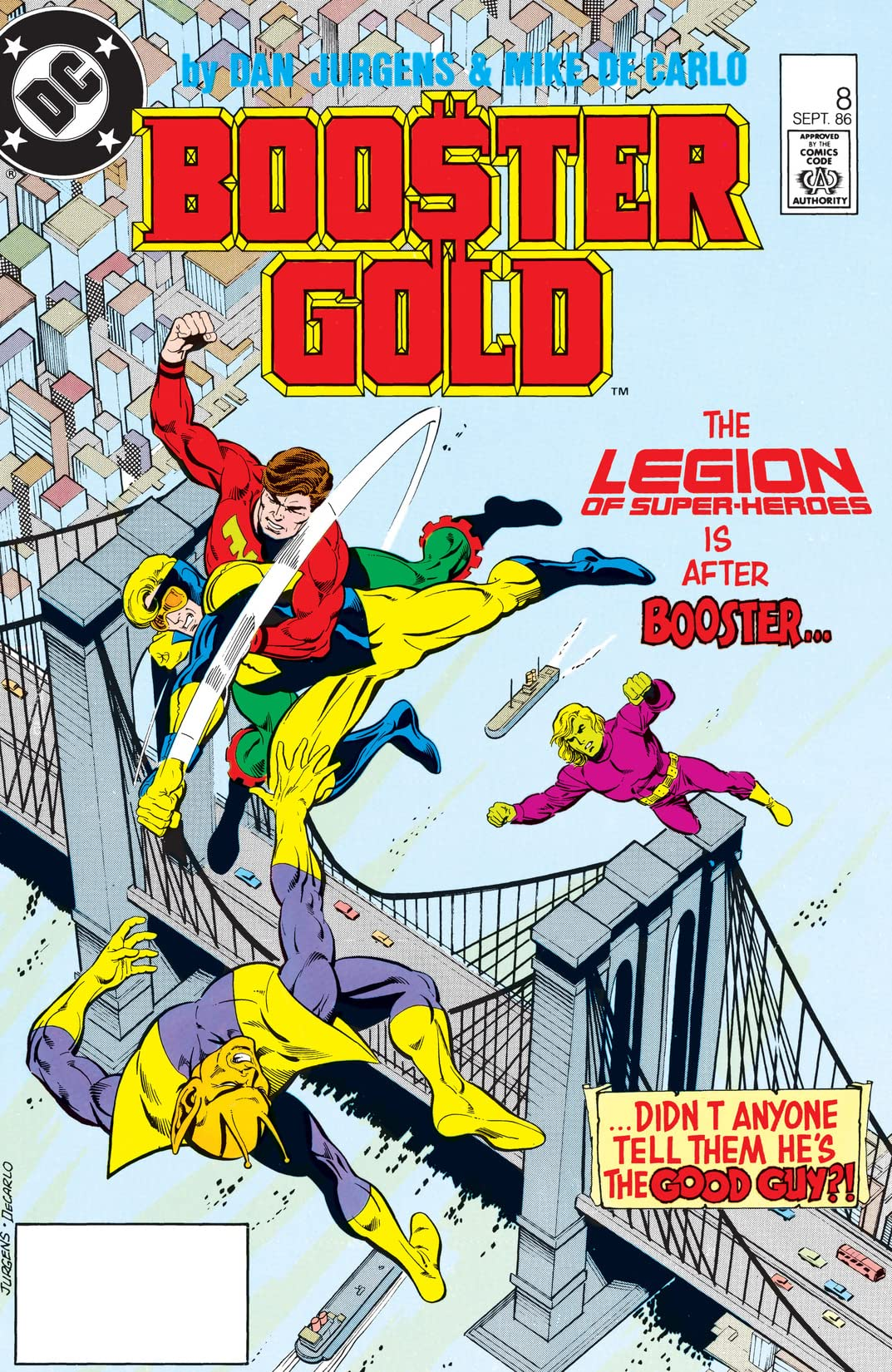 Booster Gold (1986-1988) #8