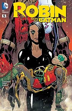 Robin: Son of Batman (2015-2016) #5