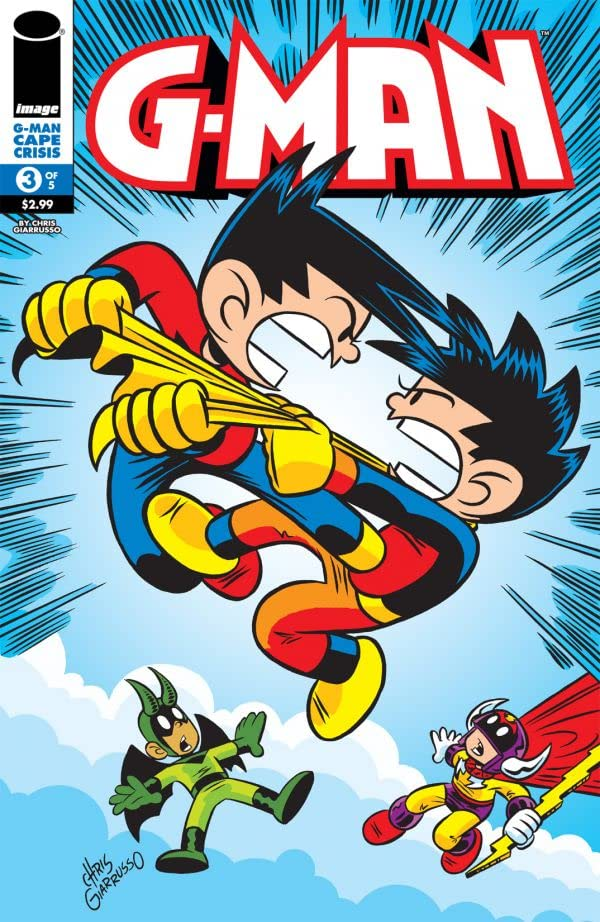 G-Man: Cape Crisis #3 (of 5)