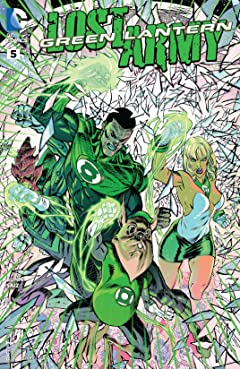 Green Lantern: Lost Army (2015) No.5