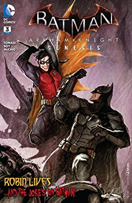 Batman: Arkham Knight - Genesis (2015-2016) No.3