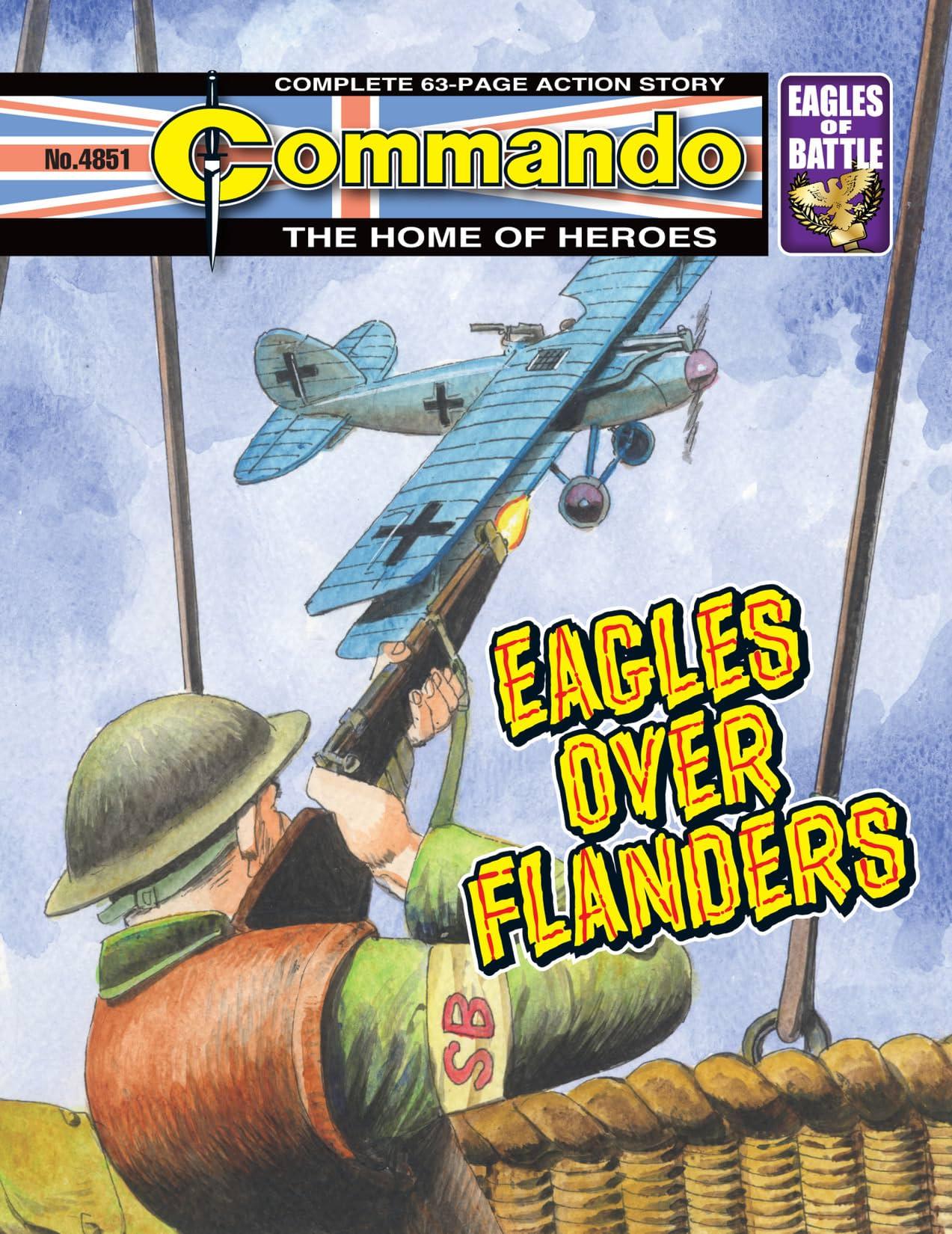 Commando #4851: Eagles Over Flanders