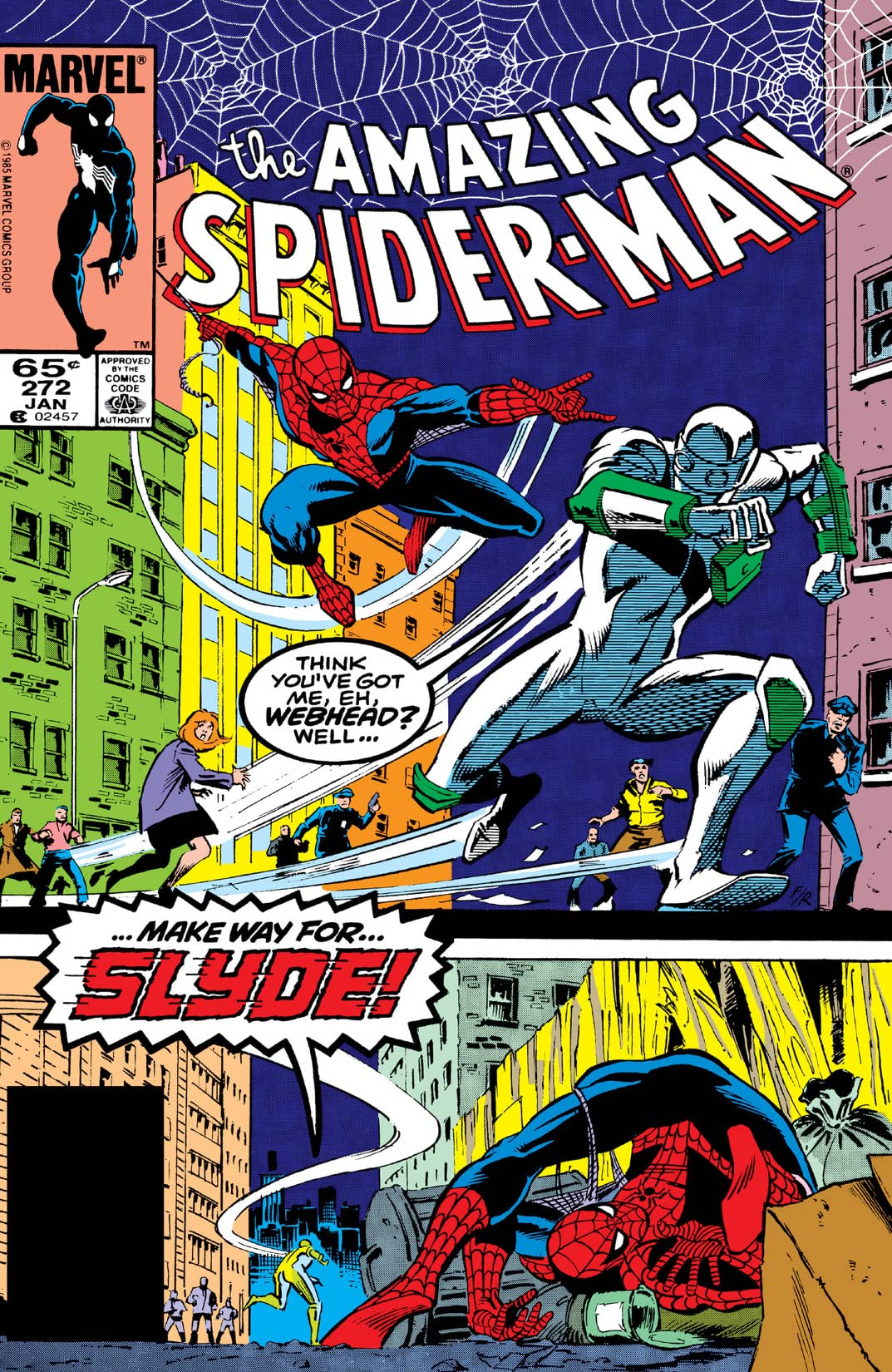 Amazing Spider-Man (1963-1998) #272