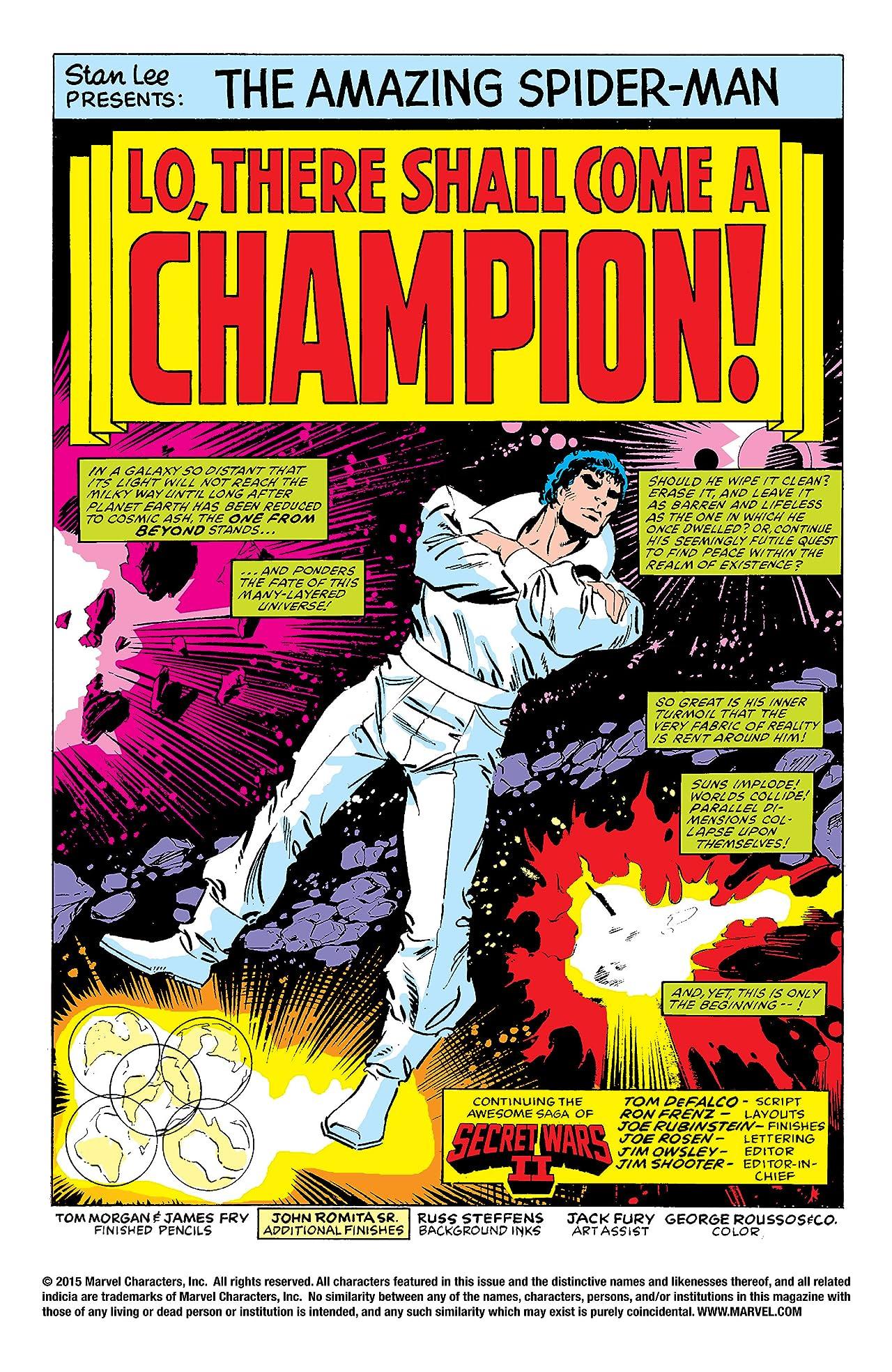 Amazing Spider-Man (1963-1998) #274