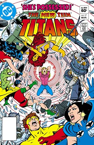 New Teen Titans (1980-1988) #17