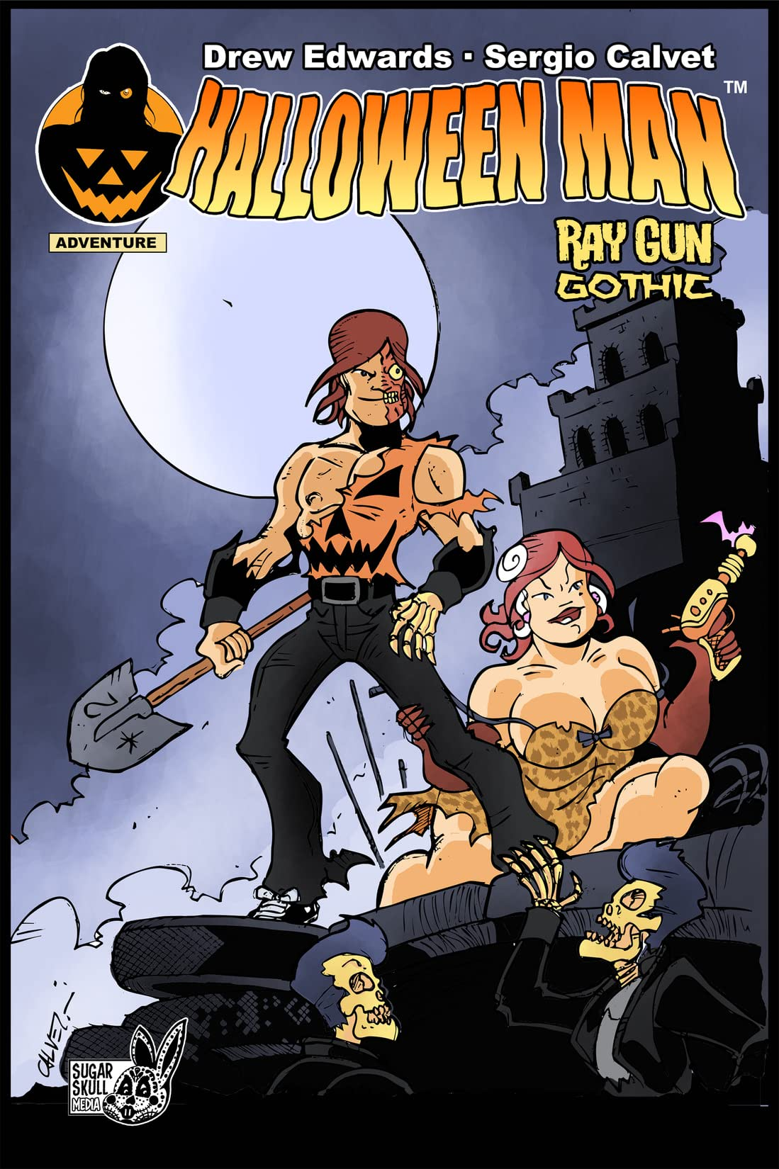 Halloween Man Vol. 1: Ray Gun Gothic