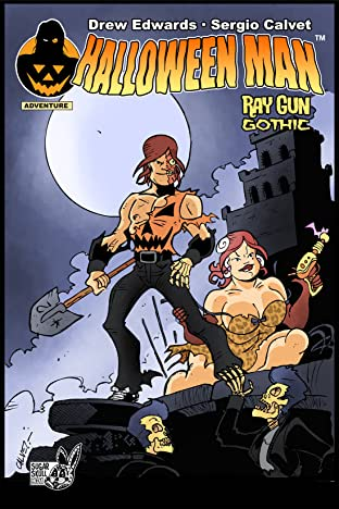 Halloween Man Vol. 1: Ray Gun Gothic