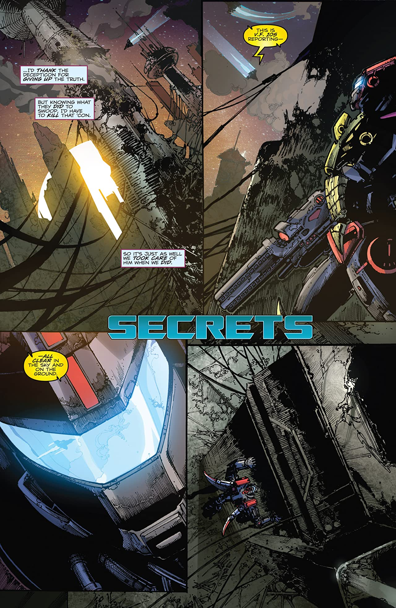 Transformers: Fall of Cybertron No.2 (sur 6)