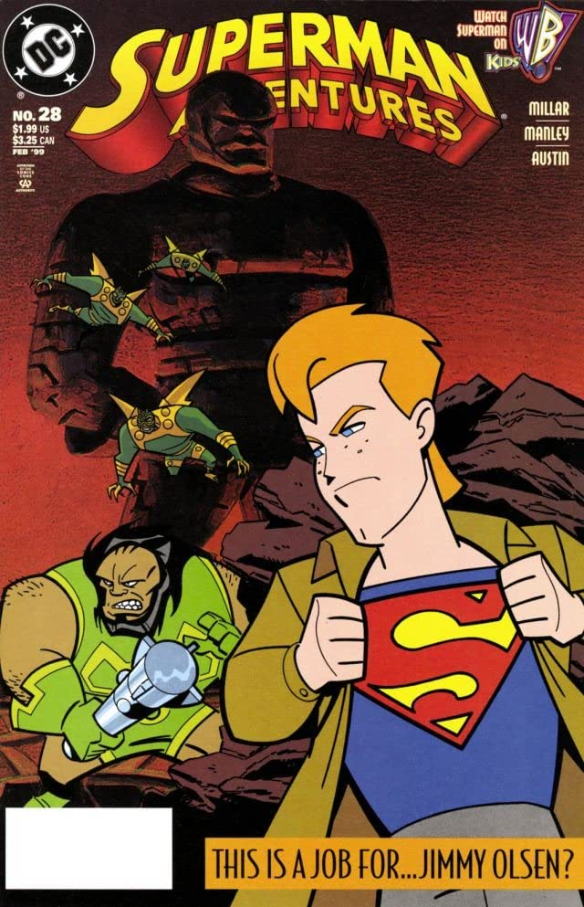 Superman Adventures (1996-2002) #28