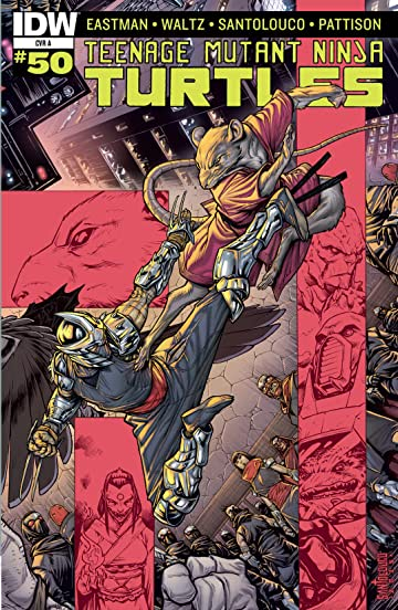 Teenage Mutant Ninja Turtles #50