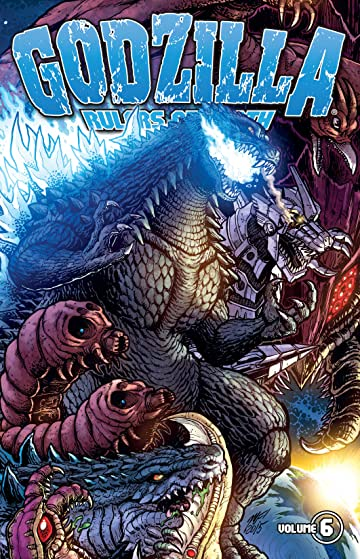 Godzilla: Rulers of Earth Tome 6
