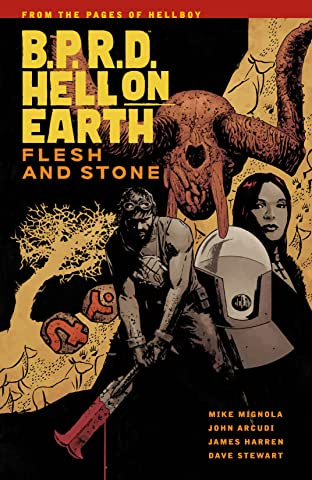 B.P.R.D. Hell On Earth Tome 11: Flesh and Stone