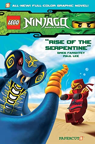 Ninjago Vol. 3: Rise of the Serpentine Preview