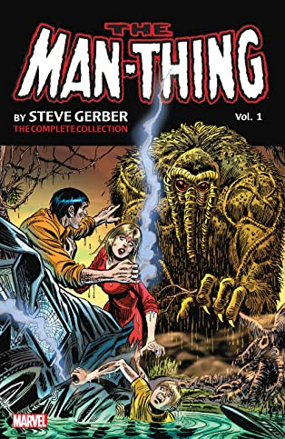 Man-Thing by Steve Gerber: The Complete Collection COMIC_VOLUME_ABBREVIATION 1
