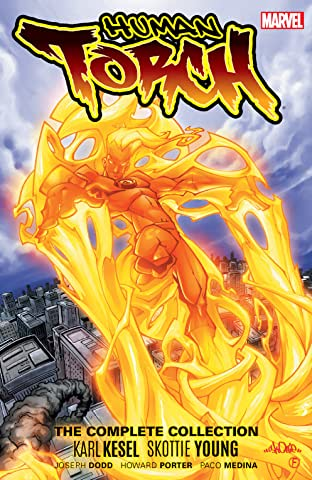 Human Torch by Karl Kesel & Skottie Young: The Complete Collection