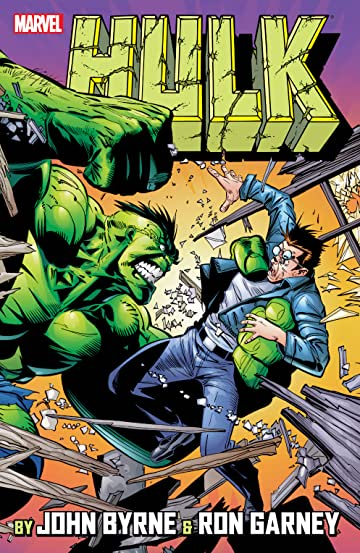 Incredible Hulk by John Byrne & Ron Garney