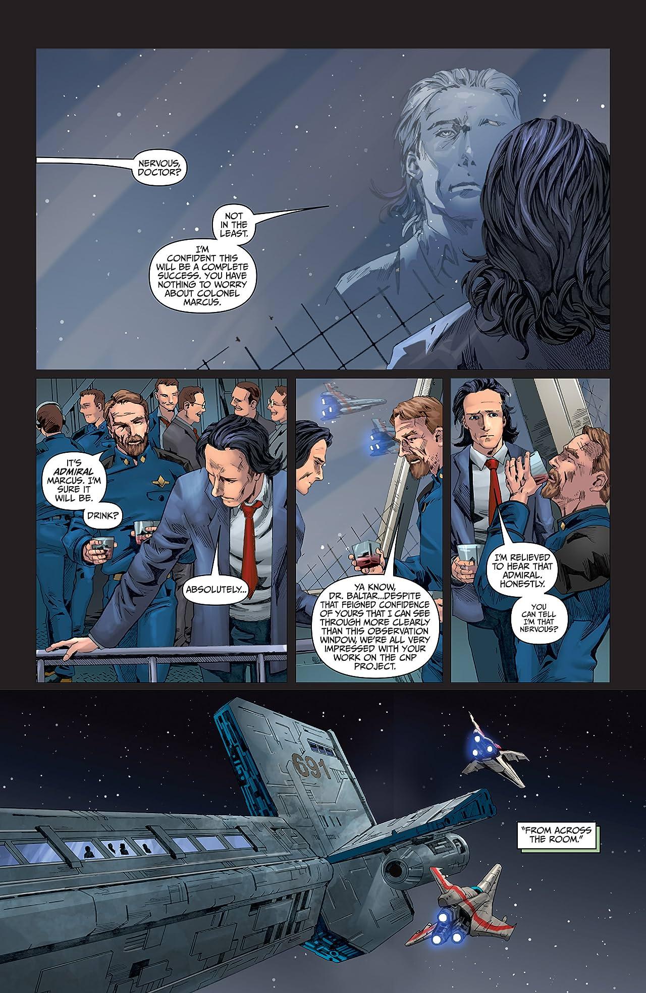 Battlestar Galactica: Origins #4