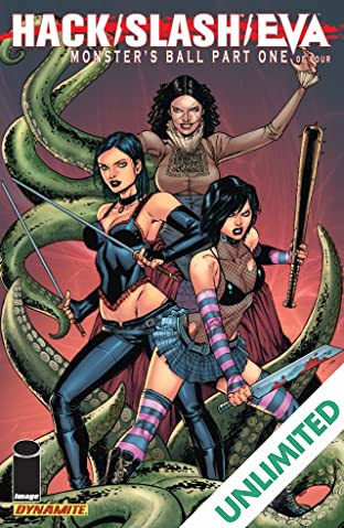 Hack/Slash/Eva: Monster's Ball #1 (of 4)