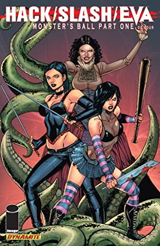 Hack/Slash/Eva: Monster's Ball No.1 (sur 4)