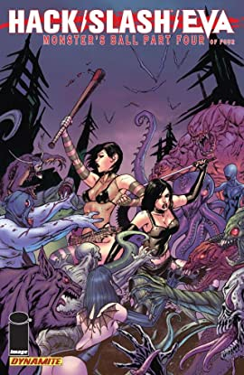 Hack/Slash/Eva: Monster's Ball #4 (of 4)