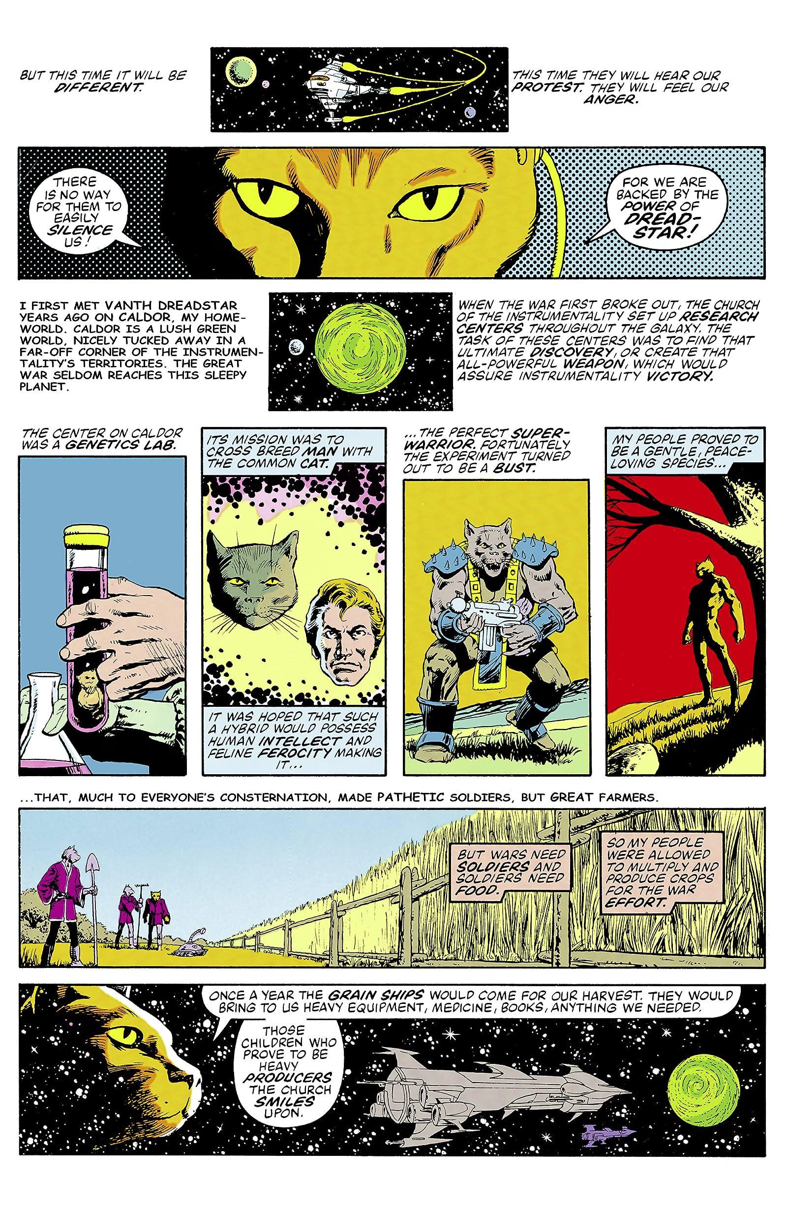 Dreadstar Omnibus - Comics by comiXology: Web UK