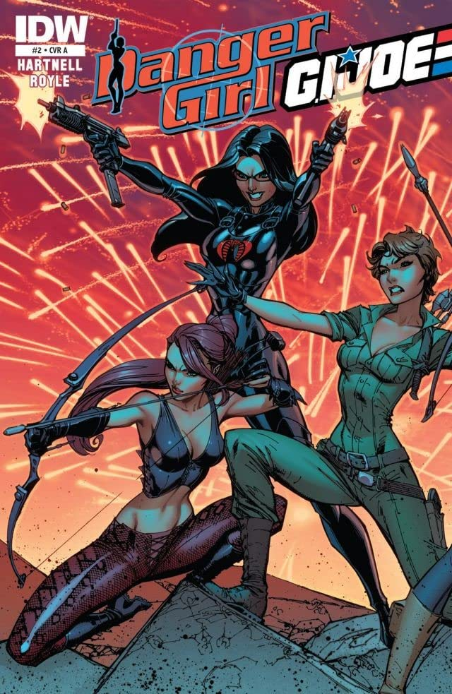 Danger Girl/G.I. Joe #2 (of 4)