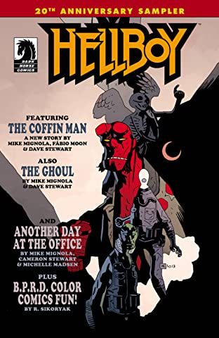 Hellboy 20th Anniversary Sampler No.0
