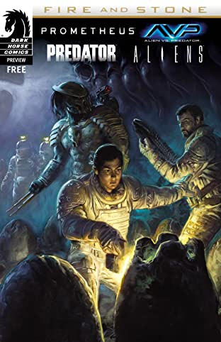 Prometheus/Aliens/AvP/Predator: Fire & Stone sampler No.0