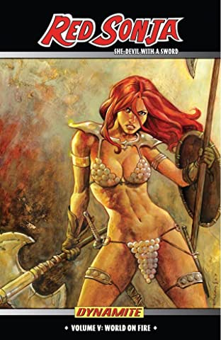 Red Sonja: She-Devil With a Sword Tome 5: World On Fire