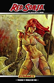Red Sonja: She-Devil With a Sword Vol. 5: World On Fire