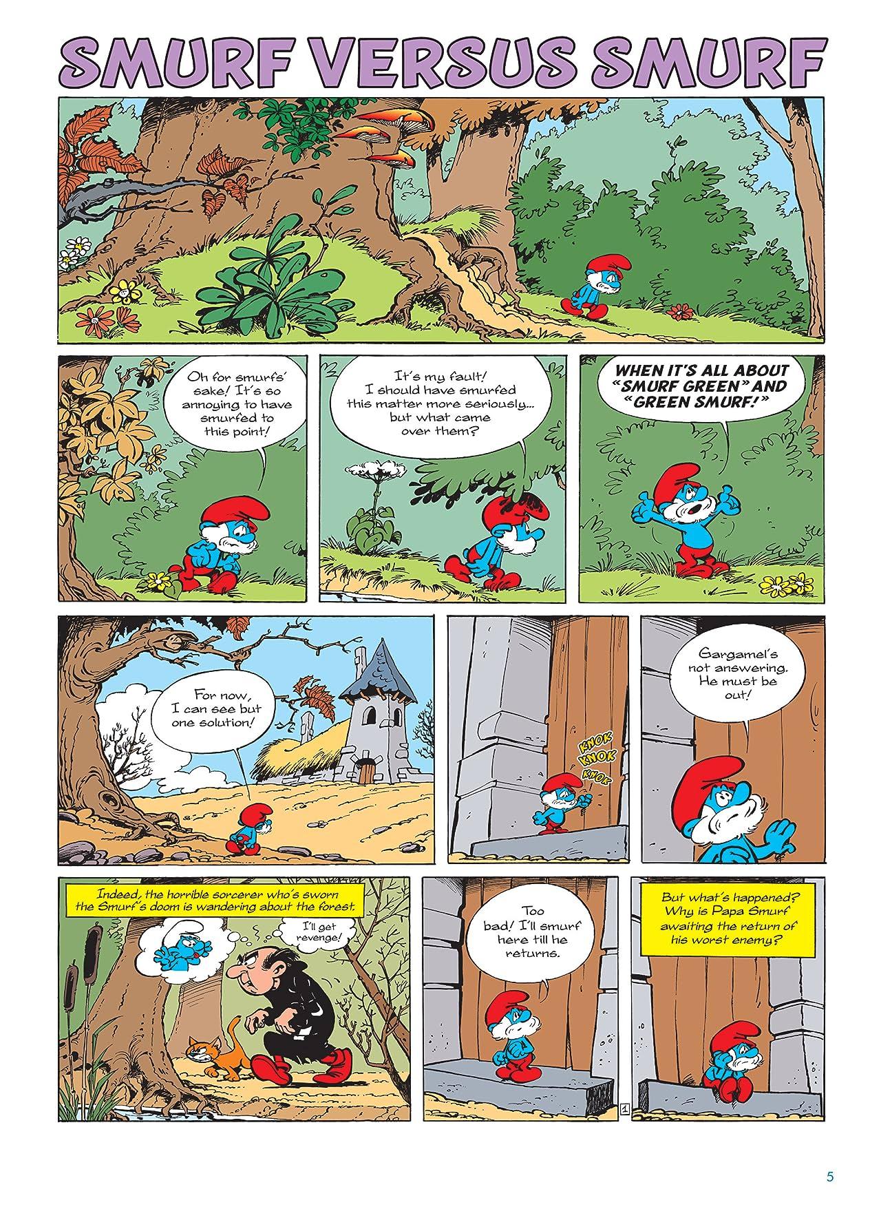 The Smurfs Vol. 12: Smurf Vs. Smurf - Preview
