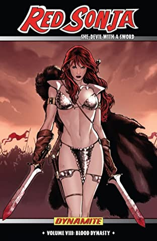 Red Sonja: She-Devil With a Sword Tome 8: Blood Dynasty